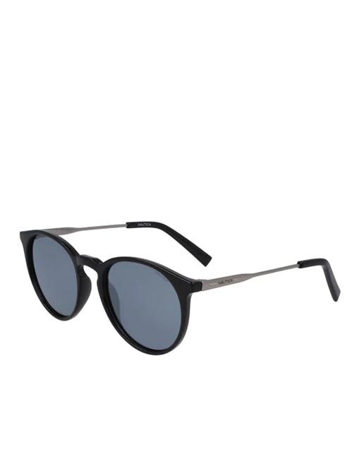 Gafas de sol de hombre Nautica redondas en negro con lentes polarizadas