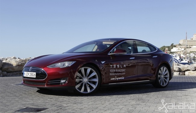 Tesla Model S prueba en Ibiza 02