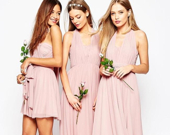 rosa millennial bodas novia inspiración