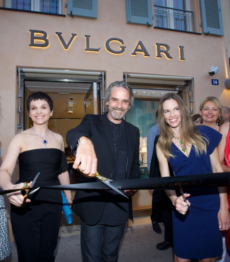 Hilary Swank Bulgari joyas Diva