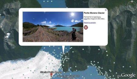 Google Earth, ahora, con panorámicas de 360Cities.net