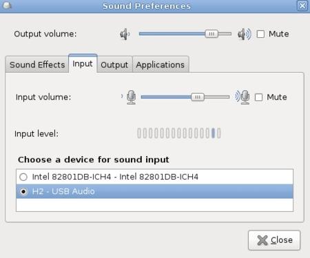 Sonido n Gnome 2.26