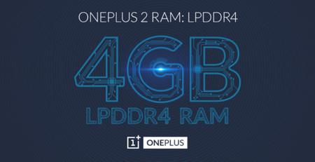 OnePlus 2 tendrá 4GB de memoria RAM LPDDR4