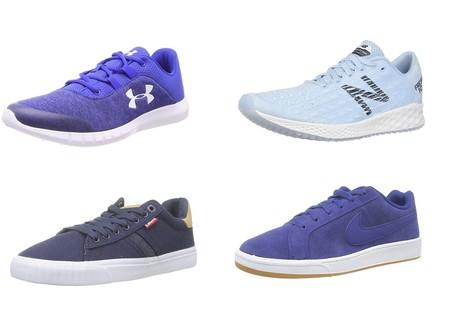 Chollos en tallas sueltas de zapatillas en Amazon de marcas tan conocidas como Under Armour, Levi's, Nike y New Balance