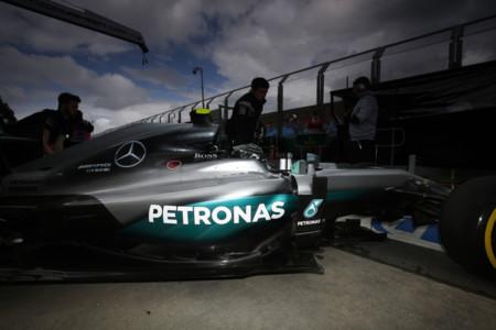 Y dale la burra al trigo. Nico Rosberg probará en Spa el Halo