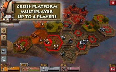 Greed Corp HD, juego de estrategia en Android