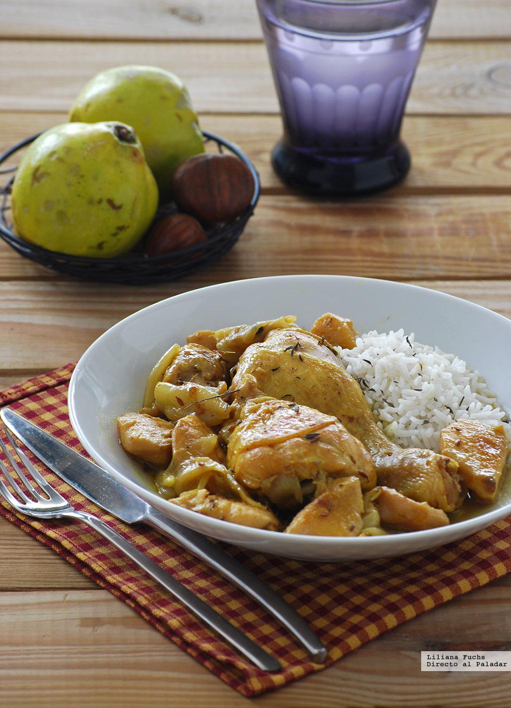 Muslitos de pollo con membrillo receta - Muslitos de pollo ...
