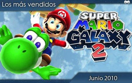 Los juegos más vendidos en España. Junio 2010