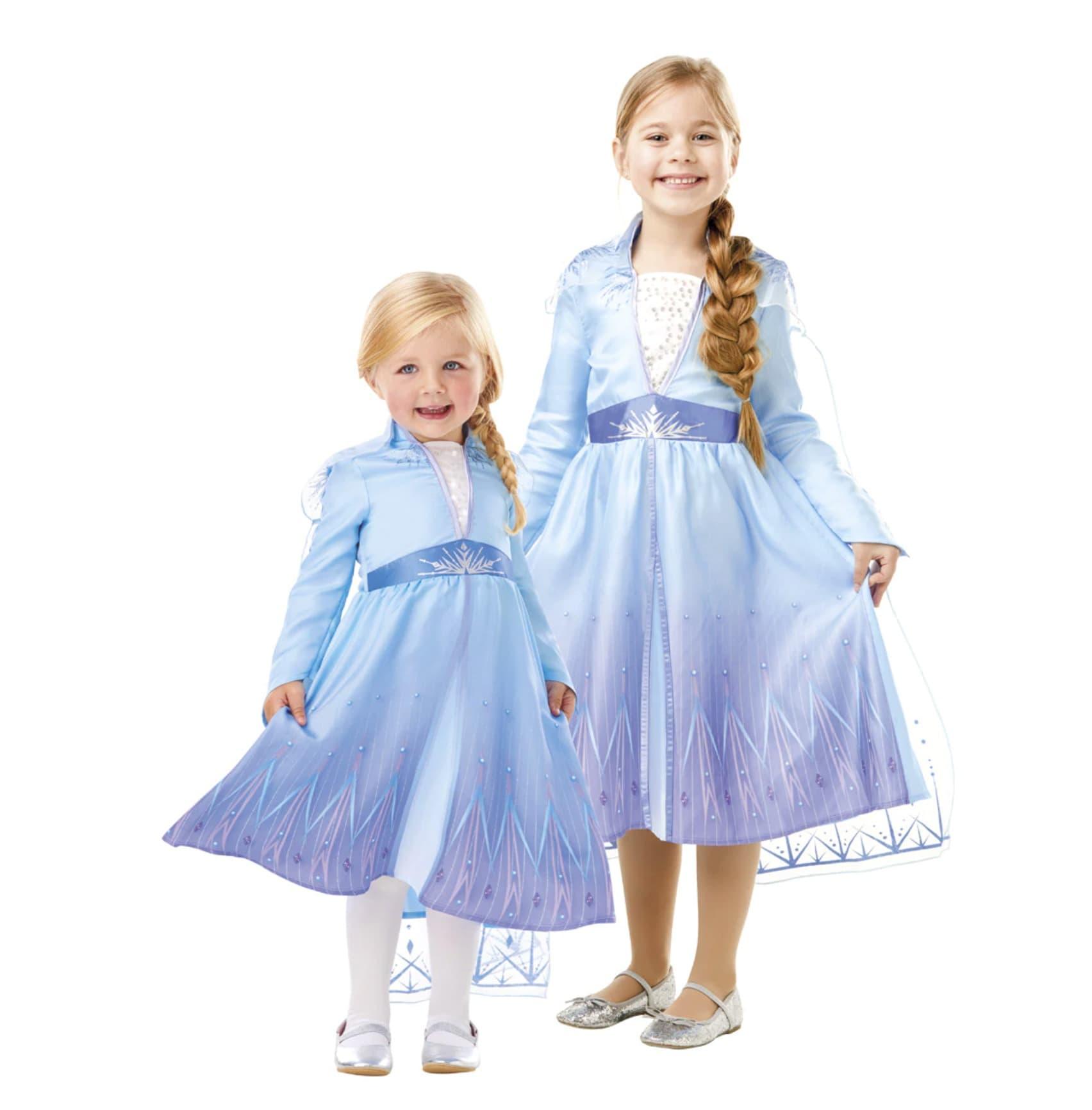 Disfraz infantil Elsa Travel Frozen II Disney Rubies