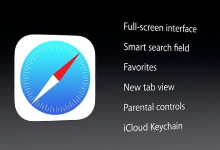 El nuevo Safari en iOS 7