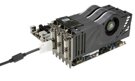 NVidia 3-Way, configuraciones de tres gráficas en SLI