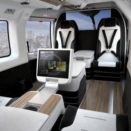 El nuevo Eurocopter EC145 VIP de Mercedes-Benz