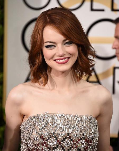 Emma Stone Golden Globes 2015 3 1