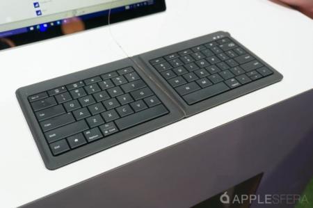 Probamos el nuevo teclado plegable de Microsoft