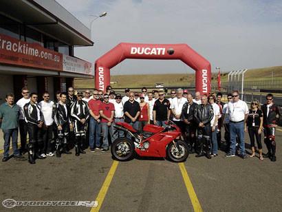 Ducati 1098 Prueba