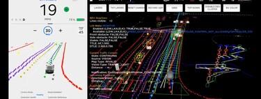 Así ven el mundo los Tesla: un hacker desvela los controles de su sistema de conducción autónoma