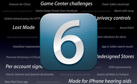 Las otras novedades de iOS 6