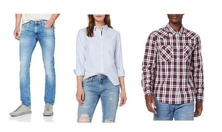 Chollos en tallas sueltas de pantalones, camisas y chaquetas  de marcas como Quiksilver, Superdry, Lee o Levi's en Amazon por menos de 30 euros