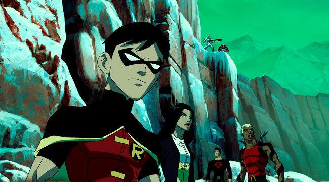 Robin, Zatanna, Superboy, Aqualad