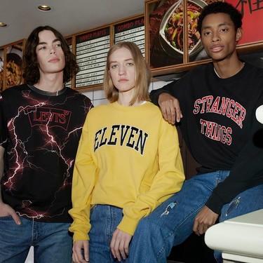 Levi's y Stranger Things nos invaden de nostalgia ochentera en su colección cápsula