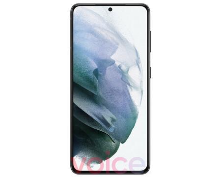 Samsung Galaxy S21 5G: todo lo que nos muestra la fotografía filtrada de su frontal