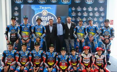 El Team Estrella Galicia 0,0 se presenta en el Jarama con los títulos de Moto2 y Moto3 en el punto de mira