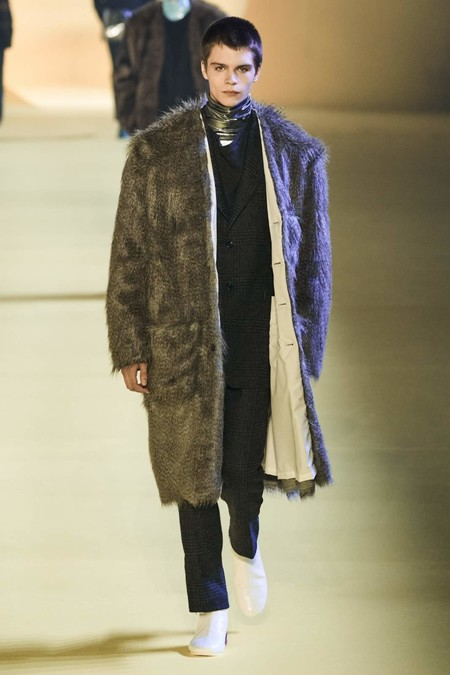 Raf Simons Fall Winter 2020 Paris Fashion Week 11