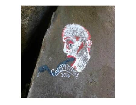 Grafitis en parques nacionales