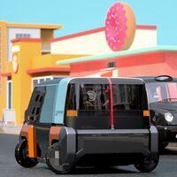"""Hyundai sueña con coches eléctricos que aparcan """"a lo cangrejo"""" y cuyas ventanas son  en realidad pantallas LCD"""