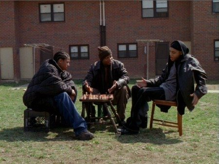 Escena de The Wire