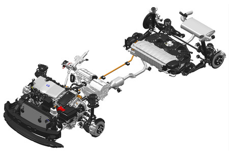 Sistema Hibrido del Toyota CH-R