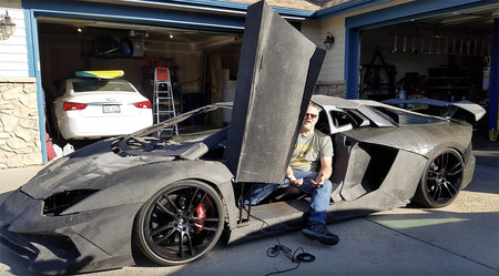 De Forza a la vida real, un científico le fabrica a su hijo un Lamborghini Aventador con piezas impresas en 3D
