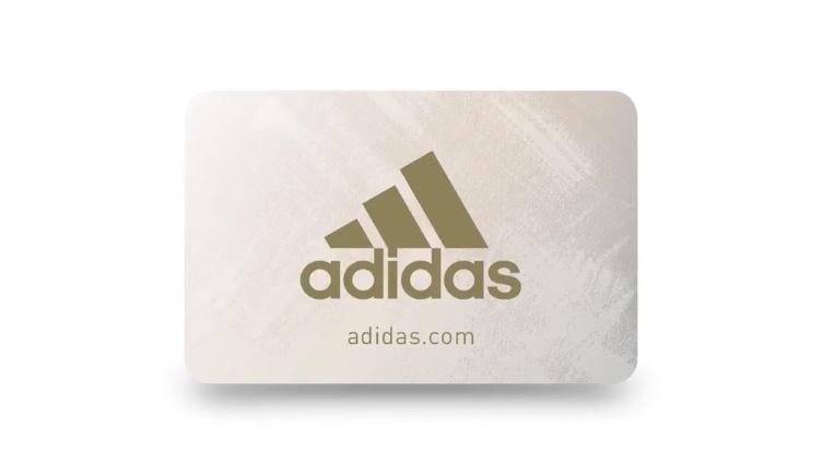 Tarjeta regalo de Adidas