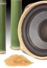Altavoces de bambú de Panasonic