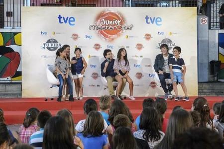 El jurado de MasterChef Junior explica en el FesTVal de Vitoria las claves para ser el ganador
