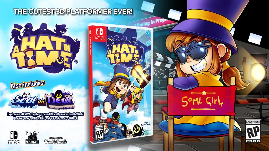 La versión para Nintendo Switch de A Hat in Time llegará en octubre con algunas características exclusivas en consolas