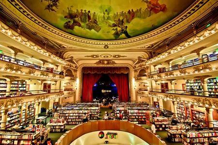 ¿La librería más bonita del mundo está en Buenos Aires?