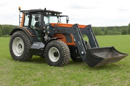 Tecnología del transporte: tractores a biogás