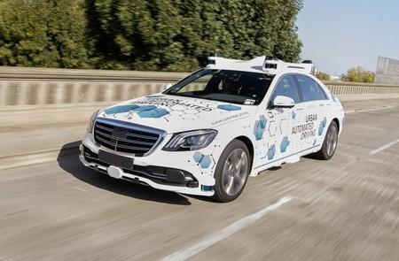 Mercedes Coche Autonomo