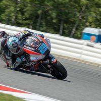 Marcel Schrotter retiene a la armada italiana de Moto2 con el mejor registro del viernes en Misano