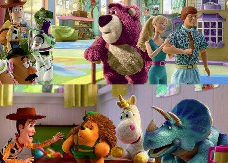 Es digno de elogio cómo los guionistas de  Toy Story 3  (están acreditados  John Lasseter 945079ab137
