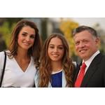 Para madre orgullosa, lo de Rania de Jordania