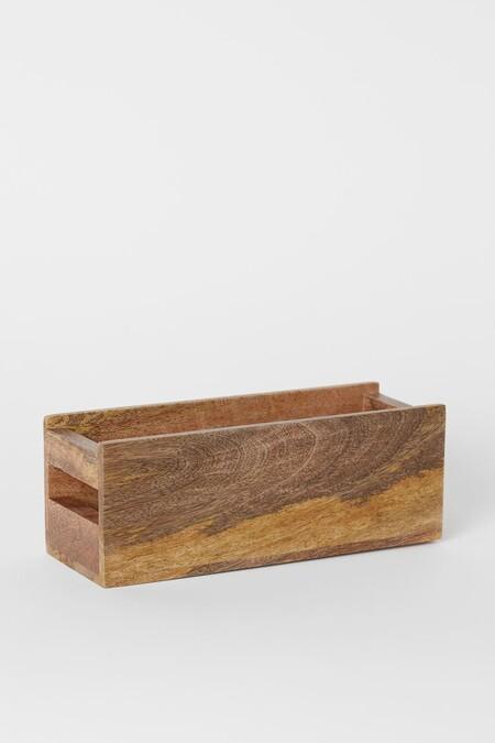 Caja de almacenaje para especias