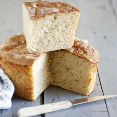 Receta fácil de pan de patata, tierno y esponjoso