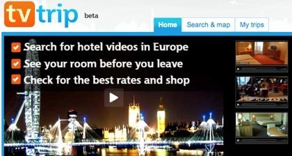 TvTrip, otra videoguía de hoteles