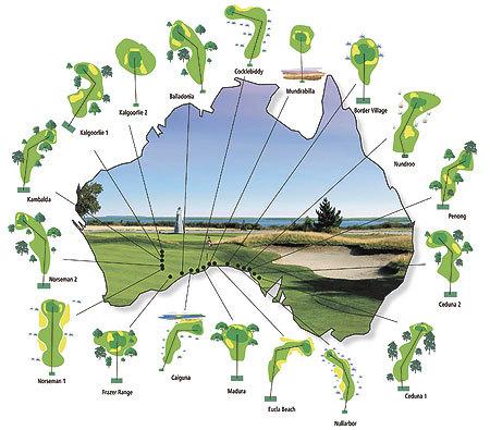 Nullarbor 18 hoyos, el campo de golf australiano del tamaño de Gran Bretaña