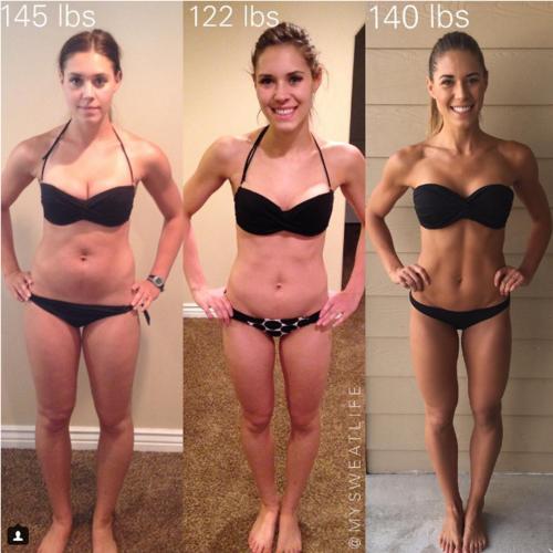 La estrella de Instagram que demuestra que el peso y la talla pueden ir por libre