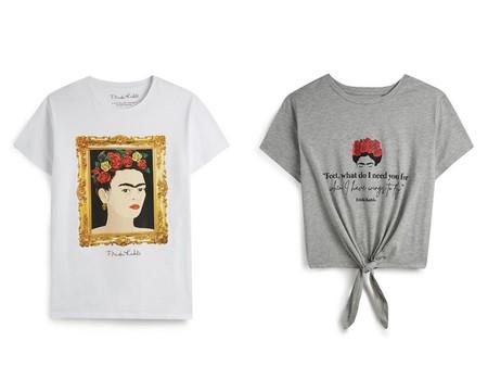 Camisetas Frida Kahlo Primark