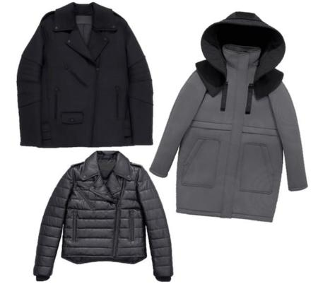 Alexander Wang Hm Collection Coats