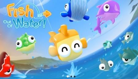 Fish out of water, el nuevo juego de los creadores de Fruit Ninja y Jetpack Joyride
